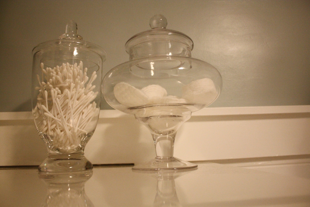 Yeah, My Q Tips Are ONLY Held In Vintage Glass Apothecary Jars. My Cotton  Balls, Too. Mostly Due To My Classiness.